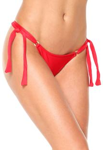 Calcinha Rygy String Ana Argola Vermelha