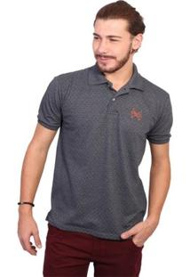 Camisa Polo England Polo Club Full Print - Masculino