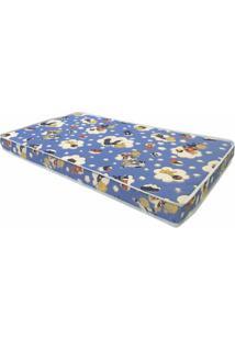 Colchao Baby Physical 60 Cm (Larg) Azul - 57519 - Sun House