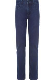Calça Masculina Jeans Comfort - Azul