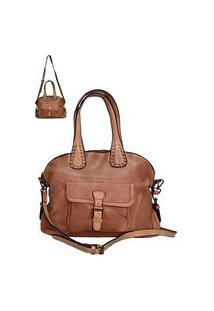 Bolsa Its! Shopper Bolso Frontal Caamelo