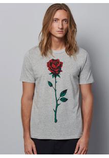 Camiseta Unissex Em Malha De Algodão Hering + À La Garçonne