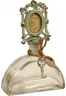 Garrafa Decorativa De Vidro Vieux - Unissex