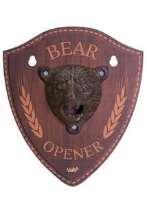 Quadro Abridor Urso - Bear Opener - Unissex