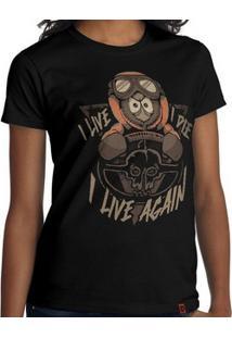 Camiseta I Live Again - Feminina