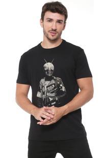 Camiseta Reserva Punk Rider Preta