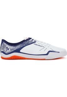 Tênis Futsal Penalty Atf Storm Zon3 Branco/Azul