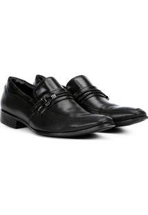 Sapato Social Couro Mariner Perfuros Denver Masculino - Masculino