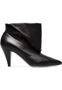 Givenchy Ankle Boot De Couro - Preto