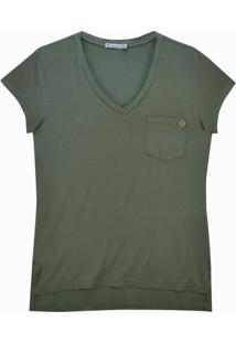 Blusa Mc Com Bolso Verde