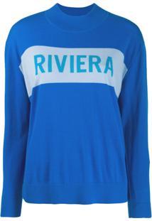 Chinti & Parker Suéter Riviera - Azul