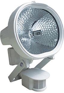 Refletor Holofote Halógeno Com Sensor De Presença - Dni 6019