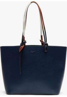 Bolsa Lacoste Premium Azul