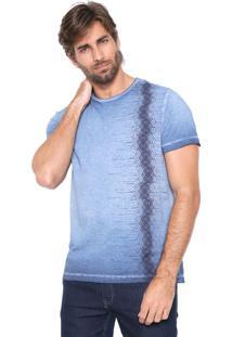 Camiseta Aramis Étnica Azul