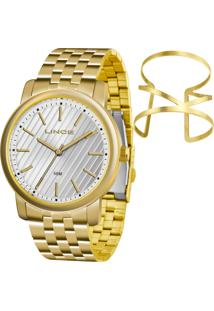 Kit Relógio Lince Feminino Com Bracelete Lrg4513Lku67S1Kx