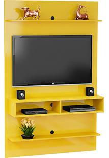 Painel Para Tv Até 47 Polegadas Vega Amarelo - Móveis Bechara
