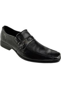 Sapato Social Cazzac Masculino - Masculino-Preto