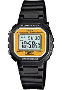 4877ccf701f Relógio Amarelo Preto Feminino Unissex Casio Lã Digital -  Unissex-Preto+Amarelo