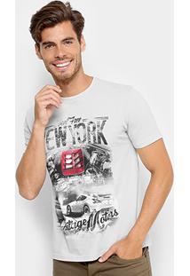 Camiseta Tigs Gola Careca Nyc Masculina - Masculino