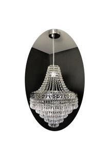 Lustre Pendente Cristal Acrílico 36X150 Lina Design Ac73