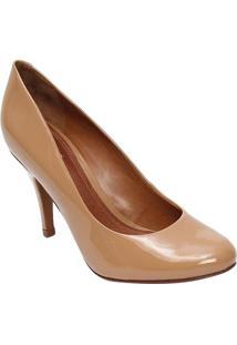 Sapato Tradicional Envernizado- Caramelo- Salto: 9Cmschutz
