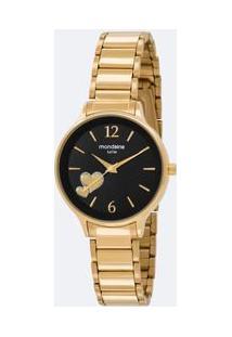 212a5fcd55b Relógio Analógico Mondaine feminino