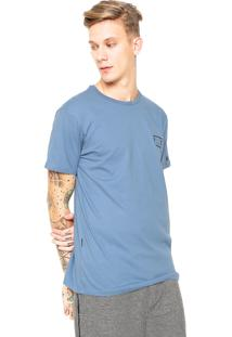 Camiseta Billabong Border Die Cut Azul