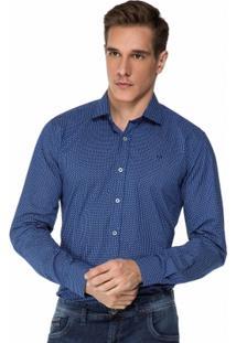 Camisa Hugo Rossi Estampa Palito - Masculino
