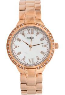 Relógio Guess 92664Lpgdra2 Rosê/Branco - Kanui