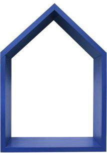Nicho Home Sweet Home- Azul- 33X28Cm- Kaposkapos