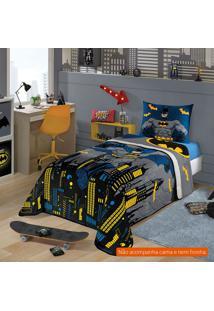 Edredom Infantil Batman (150X200) Algodão Azul
