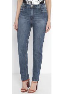Jeans Vênus Com Bolsos - Azul- Lança Perfumelança Perfume