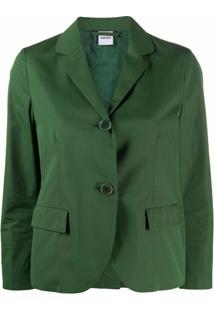 Aspesi Blazer De Alfaiataria Americana - Verde
