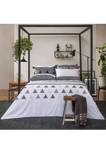 Jogo De Lençol Home Design Memphis Solteiro - Santista - Cinza