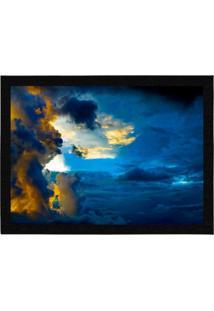 Capacho - Tapete Colours Creative Photo Decor - Nuvem Azul
