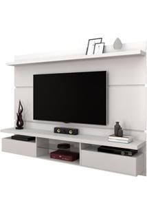 Painel Bancada Suspensa Para Tv Até 60 Pol. 2.2 Lívia H01 Branco - Mpo