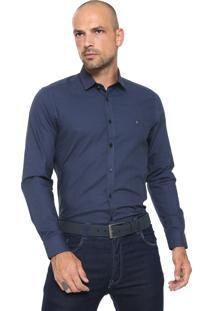Camisa Aramis Super Slim Azul