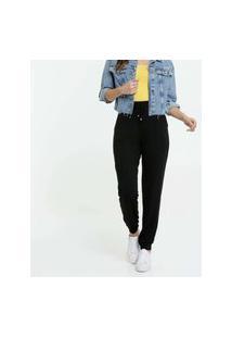 Calça Feminina Jogger Bolsos Marisa