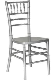 Cadeira De Jantar Tiffany Prata