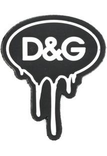 Dolce & Gabbana Patch De Logo - Preto