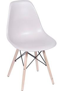 Cadeira Eames Dkr- Fendi & Madeira Escura- 80,5X46,5Or Design