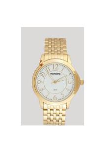 Relógio Analógico Mondaine Feminino - 83337Lpmvde2 Dourado