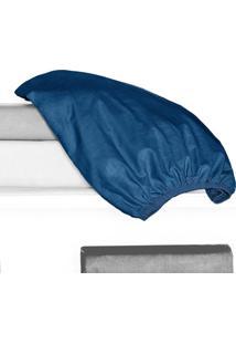 Porta Travesseiro 150 Fios Juma 01 Peça - Azul Royal