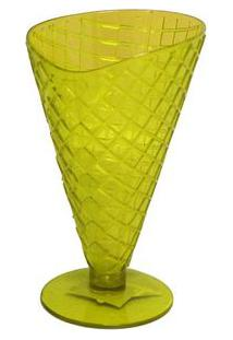 Taça Para Sobremesa 9X16 Cm Amarelo Basic Kitchen