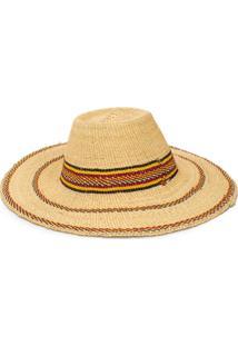 Forte Forte Tassel-Embellished Wide-Brim Hat - Neutro