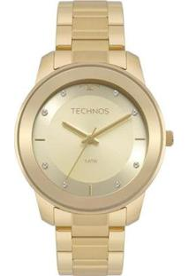 Relógio Technos Fashion 2036Mkd4X Feminino - Feminino-Dourado