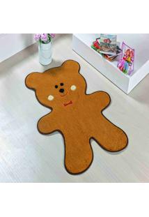 Tapete Dourados Enxovais Formato Urso Biscoito Caramelo