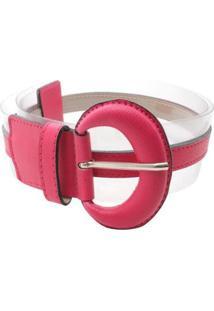 Cinto Birô Detalhe Colorido - Feminino-Pink