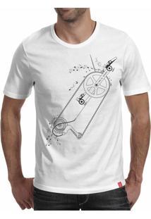 Camiseta Casual Sport Gear Branca
