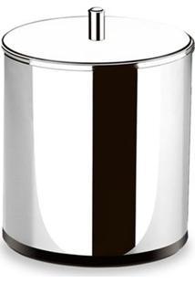 Lixeira Decorline Inox Com Tampa Inox 5,4L 3030/202 - Brinox - Brinox